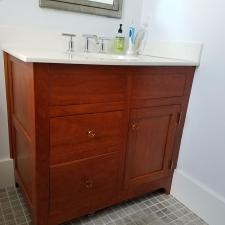 Bathroom remodeling project 17