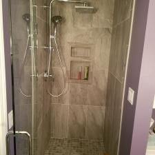 Bathroom remodeling project 21