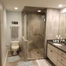 Bathroom remodeling project 23