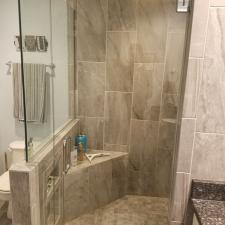 Bathroom remodeling project 26