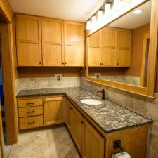 Bathroom remodeling project 33