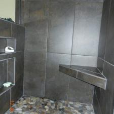 Bathroom remodeling project 6