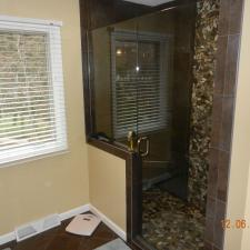 Bathroom remodeling project 8