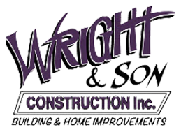 Wright and Son Construction Logo
